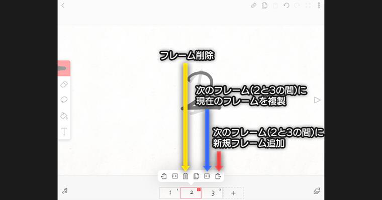 FlipaClipのタイムライン作業フローの説明