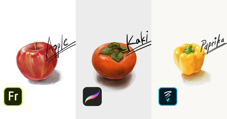 iPad第7世代描いた絵