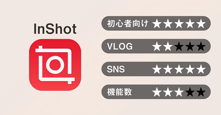 オススメ動画編集アプリ 01 InShot