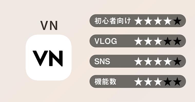 オススメ動画編集アプリ 02 VN