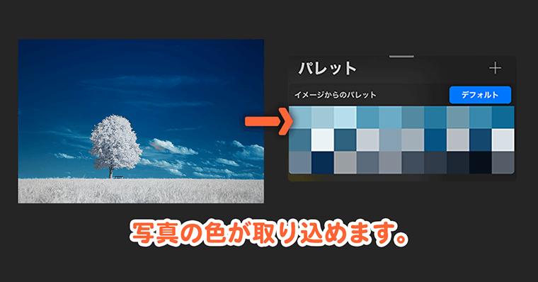 Procreate 色抽出参考図