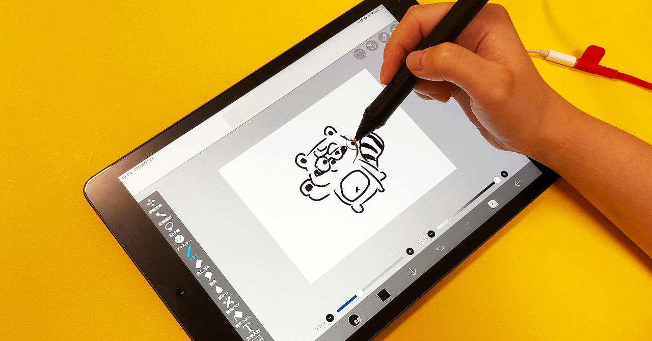 SonarPen(ソナーペン) iPadでの描き心地