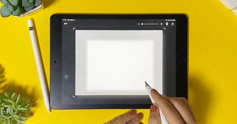 代替品検証2 Ennotek スタイラスペン画面外スワイプのスクリーンショット