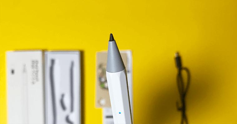 代替品検証2 Ennotek デメリット1:ペン先の摩耗
