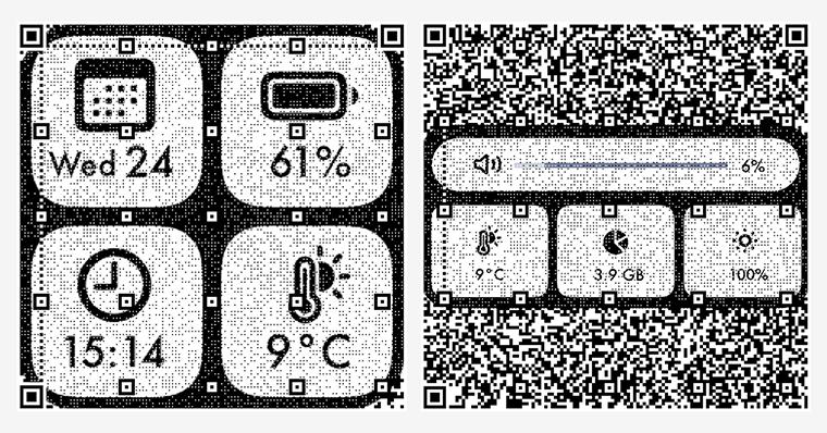 Widgy の使い方01 QRコードをインストール