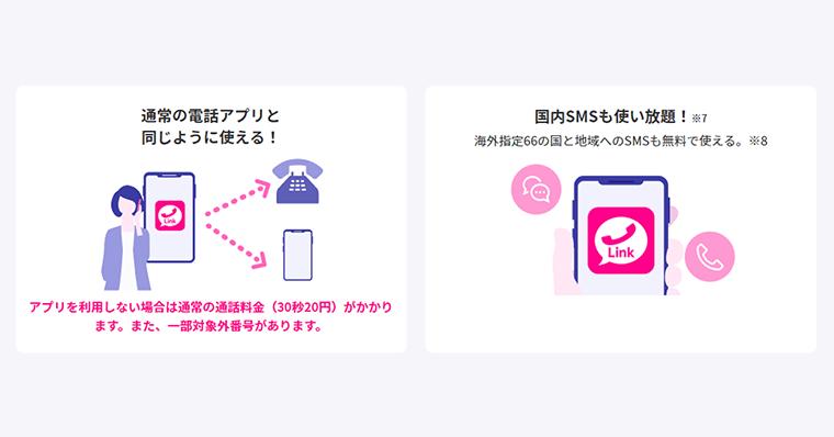 RakutenLinkアプリなら通話・SMSも0円で使い放題