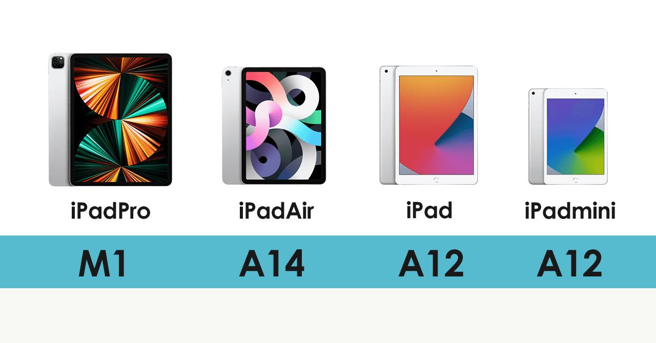 iPadスペック比較