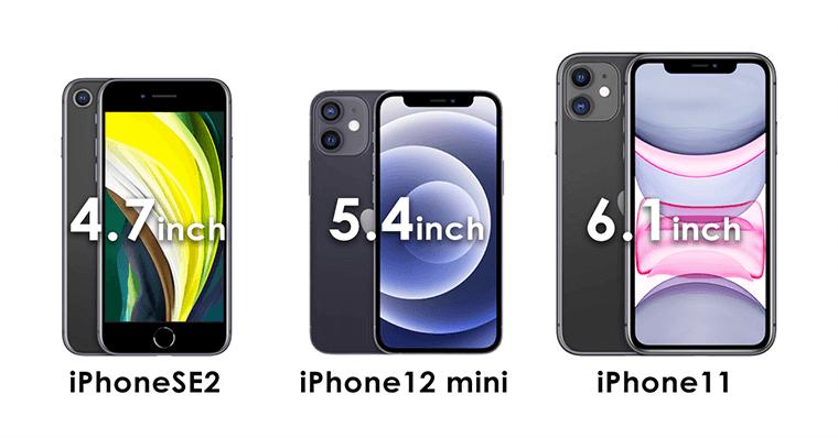 iPhoneSE2ディスプレイサイズ