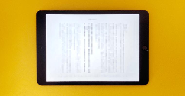 iPadの使い道 できること 書籍を読む 一般書籍