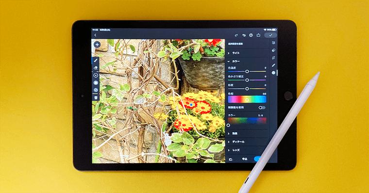 iPadの使い道 できること 写真編集