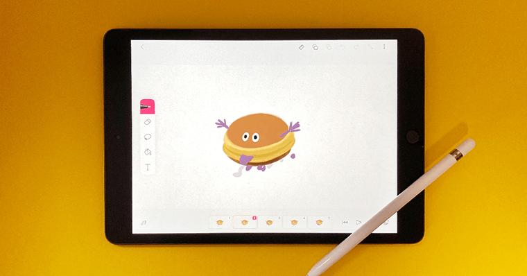 iPadの使い道 できること アニメーション