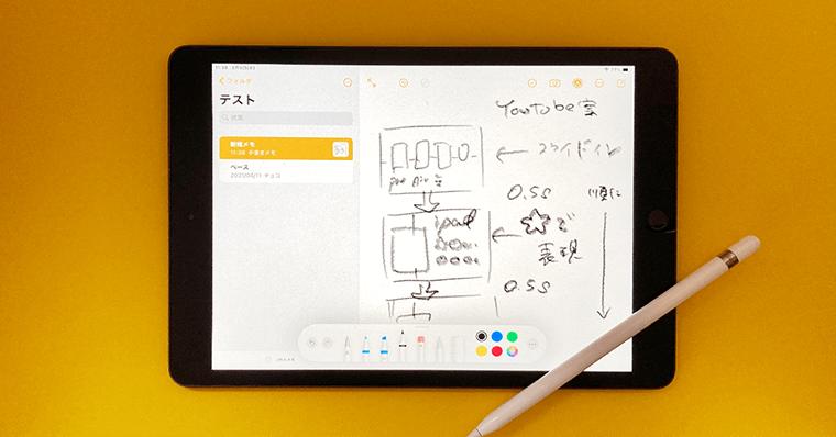 iPadの使い道 できること 絵コンテ